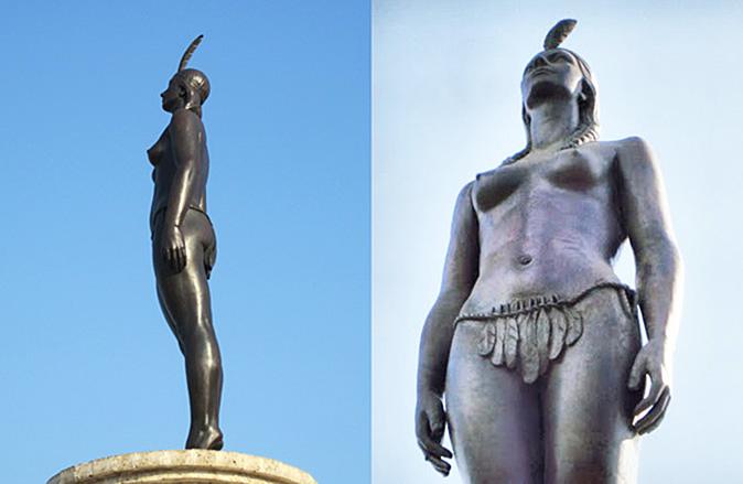 Monumento a la india Catalina - Hoteles en Cartagena