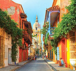 Cartagena De Indias, una calle