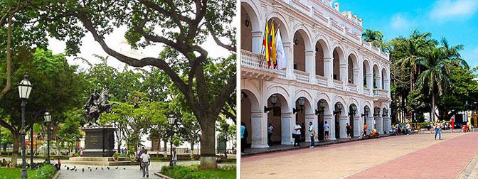 Parque Bolivar y Plaza De La Proclamacion, Cartagena De Indias