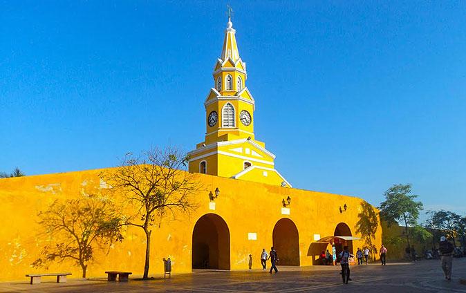 La Torre del Reloj - Cartagena de Indias - Monumentos en Cartagena